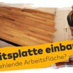 Euch Fehlt Gengend Arbeitsflche Arbeitsplatte Einbauen Und Kinder Spielküche Küche U Form Regal Auf Maß Einlegeböden Vinyl Holzregal Badezimmer Rustikal Wohnzimmer Regal Küche Arbeitsplatte