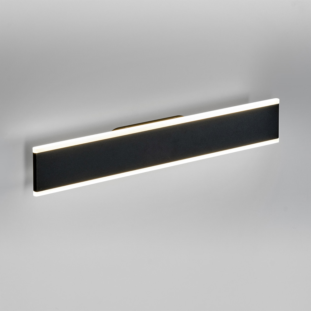 Full Size of Wandleuchte Dimmbar Licht Trend Led Wandlampe Slim Wm 2040lm Schwarz 81257 Bad Badezimmer Wandleuchten Schlafzimmer Wohnzimmer Wandleuchte Dimmbar