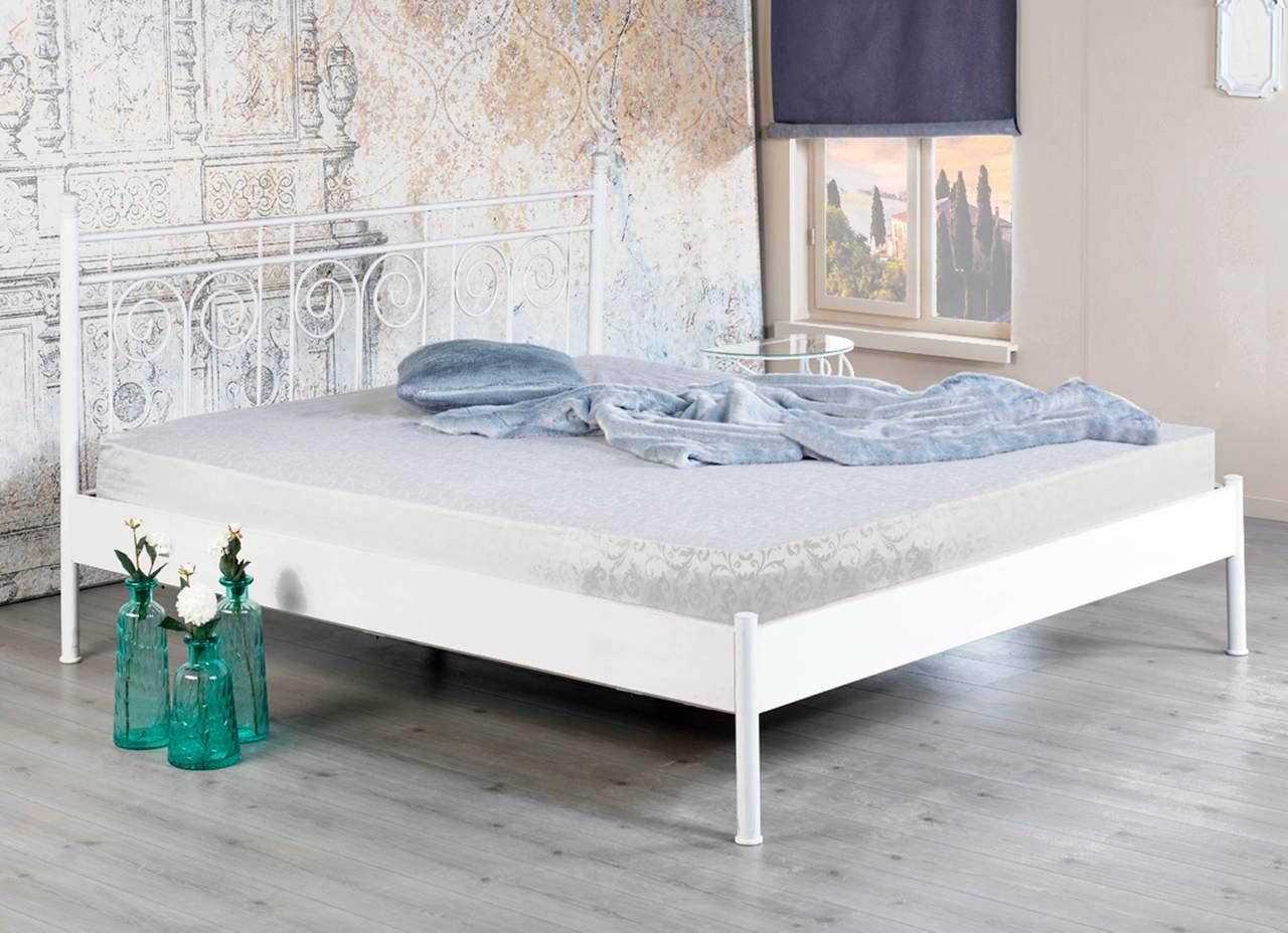 Full Size of Metallbett 100x200 Bett Weiß Betten Wohnzimmer Metallbett 100x200
