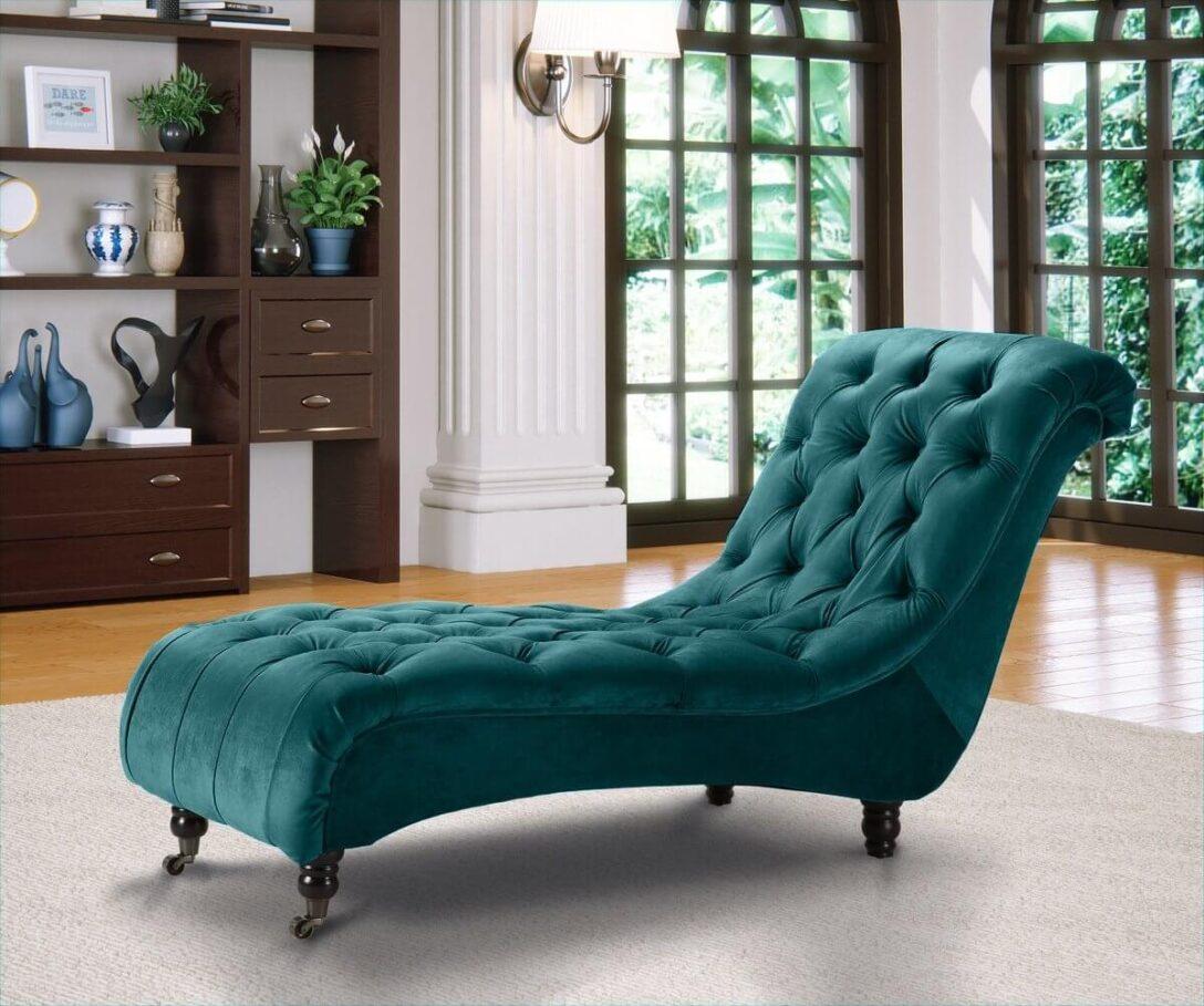 Large Size of Recamiere Samt Chesterfield Chaiselongue Liegen In Echt Leder Oder Sofa Mit Wohnzimmer Recamiere Samt