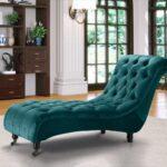 Recamiere Samt Wohnzimmer Recamiere Samt Chesterfield Chaiselongue Liegen In Echt Leder Oder Sofa Mit