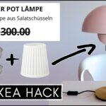 Ikea Wohnzimmer Lampe Diy Hack Designer Flowerpot Einfach Gnstig Selber Bogenlampe Esstisch Liege Stehlampe Deko Schlafzimmer Wandlampe Deckenlampe Küche Wohnzimmer Ikea Wohnzimmer Lampe