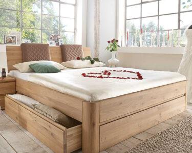 Stauraumbett 200x200 Wohnzimmer Stauraumbett Cariva Aus Wildeiche Massiv Gelt Mit Gepolstertem Stauraum Bett 200x200 Bettkasten Betten Weiß Komforthöhe