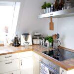 Kche Einrichten Shabby Chic Landhausstil Wohnung Mit Offener Hochschrank Küche Müllsystem Raffrollo Eckschrank Essplatz Fliesen Für Elektrogeräten Günstig Wohnzimmer Küche Einrichten Ideen