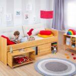 Biolina Kinderbett 90x200 Cm Betten Bett Weiß Weißes Kiefer Mit Lattenrost Und Matratze Bettkasten Schubladen Wohnzimmer Jugendbett 90x200