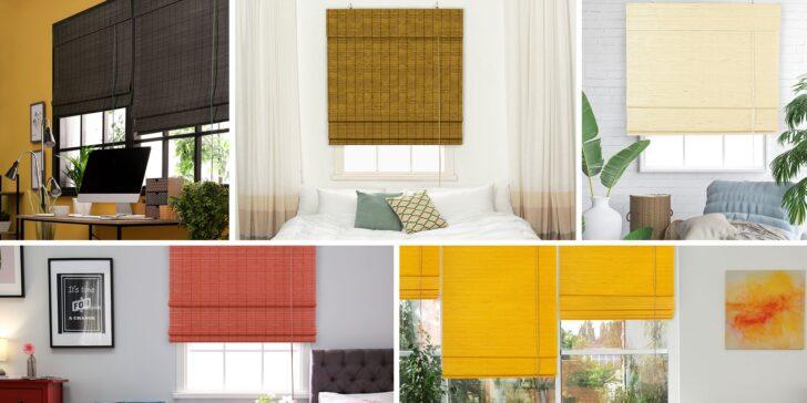 Medium Size of Raffrollos Bambus Raffrollo Küche Wohnzimmer Raffrollo Küchenfenster