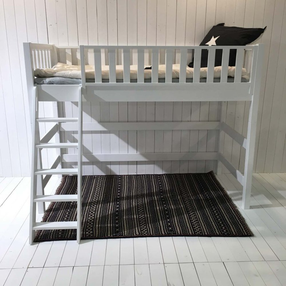 Full Size of Roomstar Multifunktions Hochbett 160cm Halbhohes Bett Wohnzimmer Halbhohes Hochbett