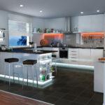 Led Panel Küche Kchenbeleuchtung Funktional Und Stimmungsvoll Paulmann Licht Schnittschutzhandschuhe Billig Mit Geräten Was Kostet Eine Neue Miniküche Wohnzimmer Led Panel Deckenleuchte Küche