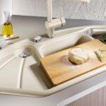 Keramik Waschbecken Küche Wohnzimmer Spülstein Keramik