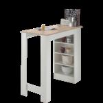 Stolkom Moderner Bartisch Mojito Mit Tischplatte In Sonoma Eiche Dekor Küche Küchen Regal Wohnzimmer Küchen Bartisch