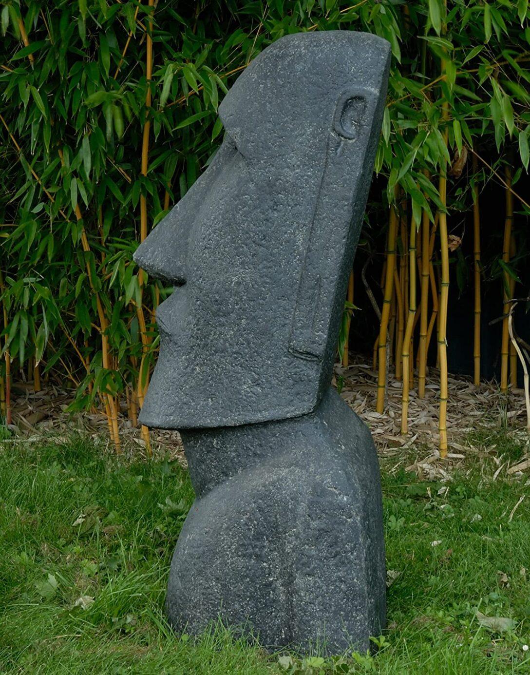 Large Size of Gartenskulpturen Stein Korboutlet Moai Kopf Steinguss Osterinseln Statue Figur Fr Haus Bad Gastein Therme Staffelstein Pension Hotel Alpina Hofgastein Wohnzimmer Gartenskulpturen Stein