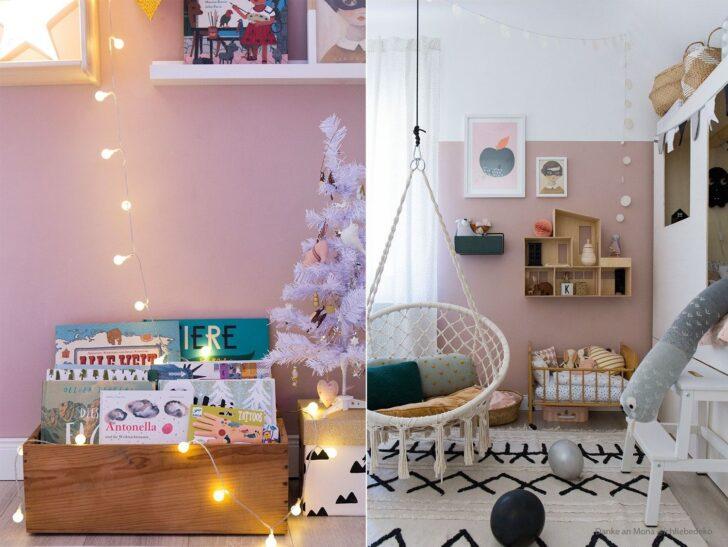 Medium Size of Farbfreude Kinderzimmer In Altrosa I Kolorat Küche Rosa Wohnzimmer Wandfarbe Rosa