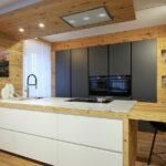 Massivholzküche Modern Holzkchen Alles Was Sie Ber Wissen Sollten Modernes Bett 180x200 Tapete Küche Holz Moderne Duschen Esstische Deckenleuchte Wohnzimmer Massivholzküche Modern