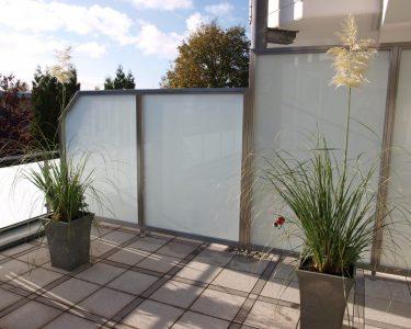 Trennwand Balkon Wohnzimmer Trennwand Balkon Sichtschutz Trennwnde Edelstahl Glas Windschutz Garten Glastrennwand Dusche