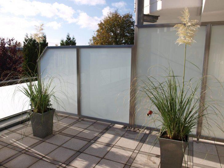 Medium Size of Trennwand Balkon Sichtschutz Trennwnde Edelstahl Glas Windschutz Garten Glastrennwand Dusche Wohnzimmer Trennwand Balkon