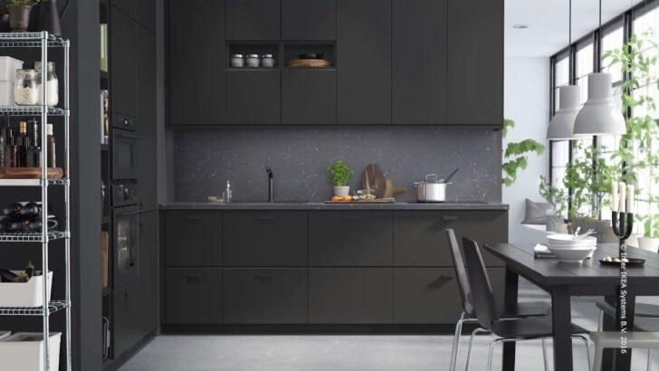 Medium Size of Kungsbacka Anthrazit Ikea Kche Aus Recycelten Materialien Youtube Fenster Küche Wohnzimmer Kungsbacka Anthrazit