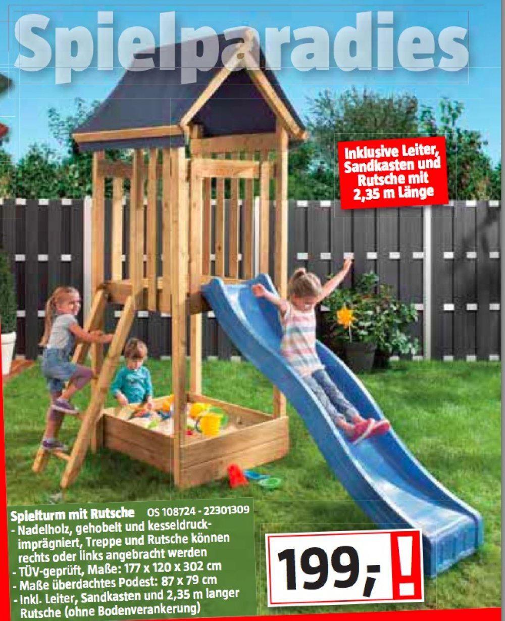 Full Size of Spielturm Bauhaus Mit Rutsche Nur 199 Fenster Garten Kinderspielturm Wohnzimmer Spielturm Bauhaus