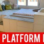 Podestbett Ikea Diy Hack Platform Bed Youtube Modulküche Sofa Mit Schlaffunktion Betten Bei Küche Kosten 160x200 Miniküche Kaufen Wohnzimmer Podestbett Ikea