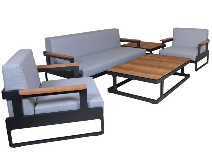 Medium Size of Loungemöbel Aluminium Alu Teakholz Design Loungembel Set Amber Anthrazit Gartenmbel Fenster Garten Günstig Holz Verbundplatte Küche Wohnzimmer Loungemöbel Aluminium