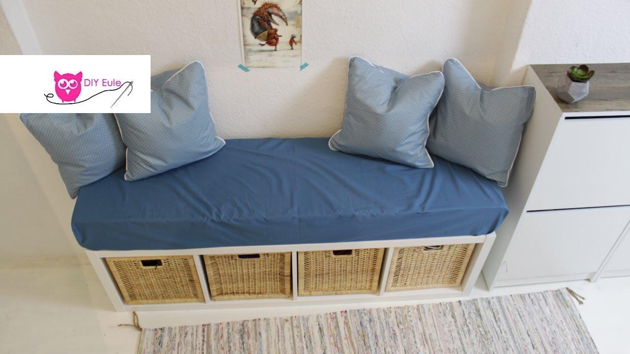 Full Size of Ikea Küchenbank Sitzbank Mit Bezug Und Kissen Hack Diy Eule Youtube Modulküche Betten 160x200 Miniküche Sofa Schlaffunktion Küche Kosten Bei Kaufen Wohnzimmer Ikea Küchenbank