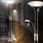 Wohnzimmer Stehlampe Led Wohnzimmer Wohnzimmer Stehlampe Led Design Deckenfluter Deckenleuchte Lampe Deckenstrahler Sofa Leder Braun Deckenlampen Für Wohnwand Kamin Beleuchtung Deckenleuchten