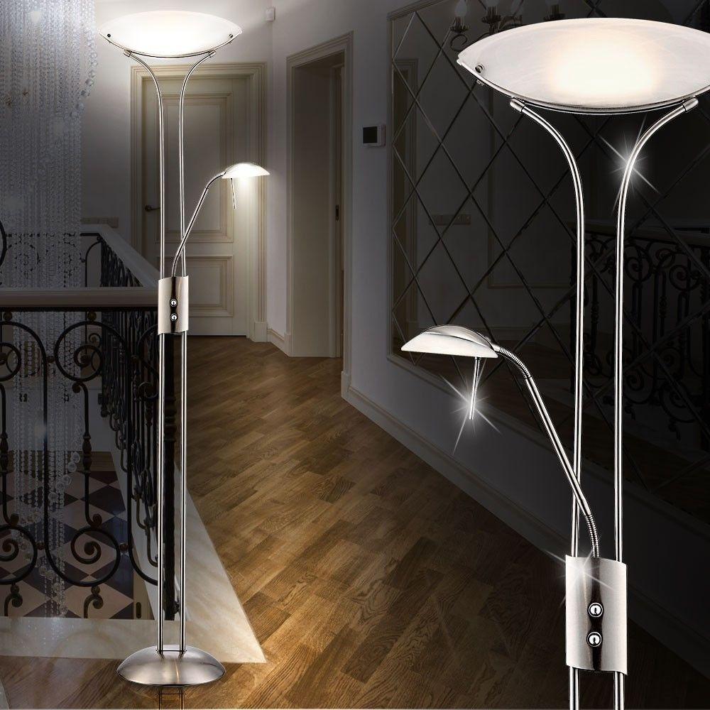 Full Size of Wohnzimmer Stehlampe Led Design Deckenfluter Deckenleuchte Lampe Deckenstrahler Sofa Leder Braun Deckenlampen Für Wohnwand Kamin Beleuchtung Deckenleuchten Wohnzimmer Wohnzimmer Stehlampe Led