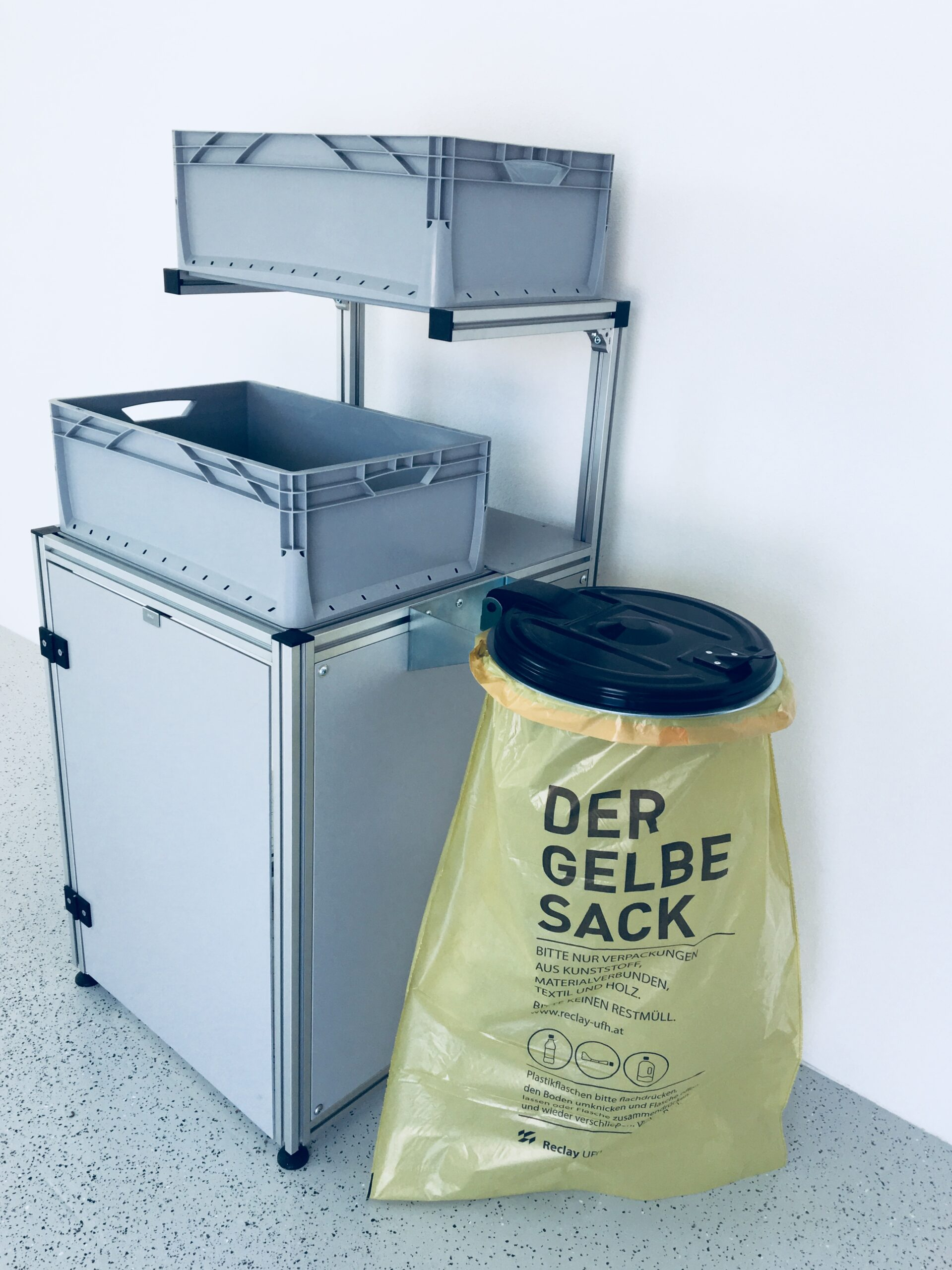 Full Size of Teco Mllsammelsystem I Profiltechnik Technoco Laser Müllsystem Küche Wohnzimmer Müllsystem