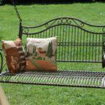 Thumbnail Size of Gartenschaukel Metall Regal Bett Regale Weiß Wohnzimmer Gartenschaukel Metall