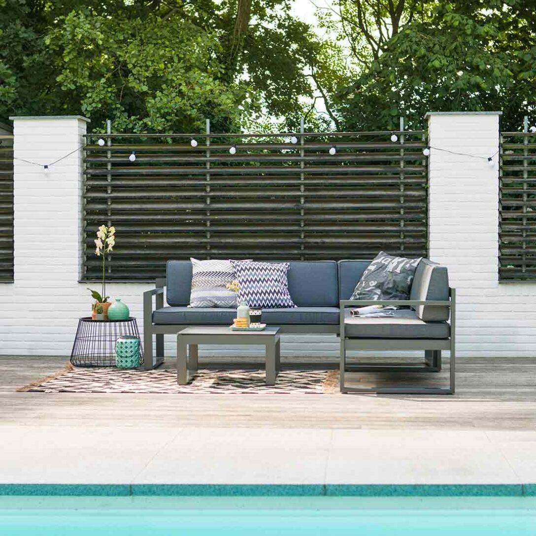 Hartman Perpignan Loungeecke 3 Teilig Aluminium Polster Garten Loungemöbel Holz Fenster Günstig Verbundplatte Küche