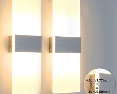 Schlafzimmer Wandlampen Wohnzimmer Glighone 212w Led Wandlampe Wandleuchte Innen Modern Weiss Up Schlafzimmer Günstig Kronleuchter Deko Deckenleuchte Landhausstil Weiß Kommode Romantische
