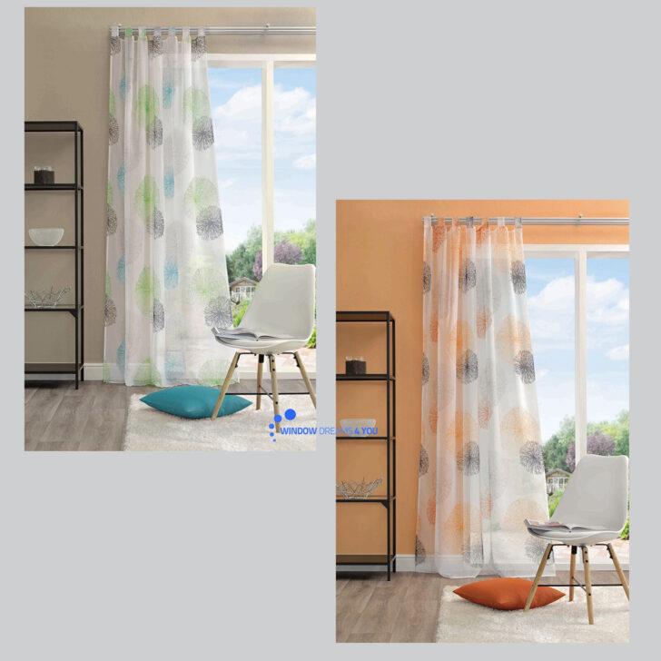 Medium Size of Rawlins Kreise Schlaufenschal Gardine Vorhang Schlaufenvorhang Küche Wohnzimmer Schlaufengardinen Kurz