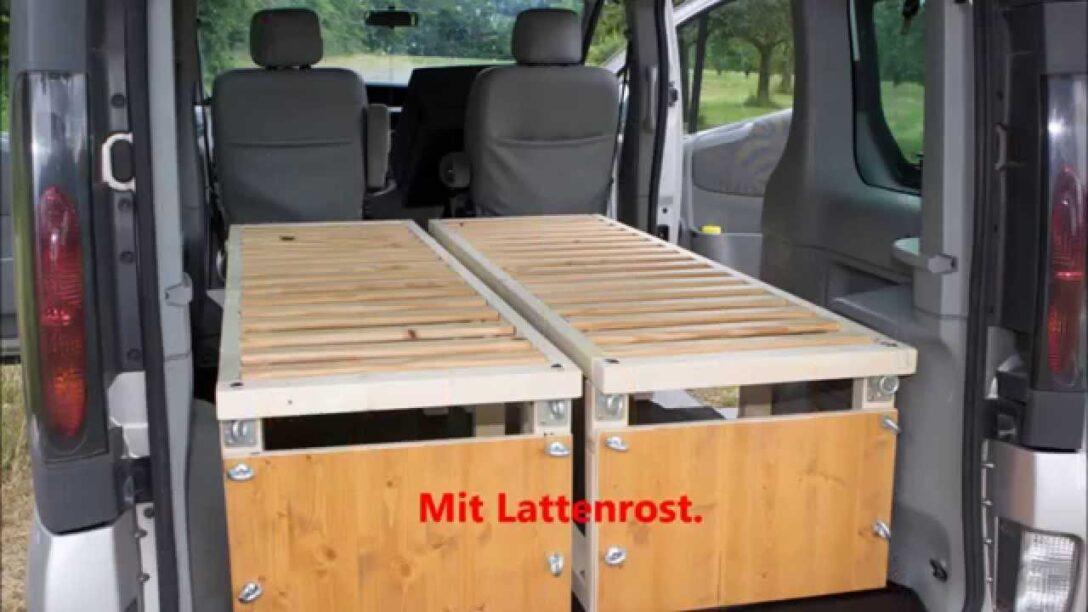 Large Size of Ausziehbett Camper Renault Trafic Mit Bett Youtube Wohnzimmer Ausziehbett Camper