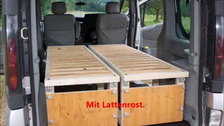 Medium Size of Ausziehbett Camper Renault Trafic Mit Bett Youtube Wohnzimmer Ausziehbett Camper