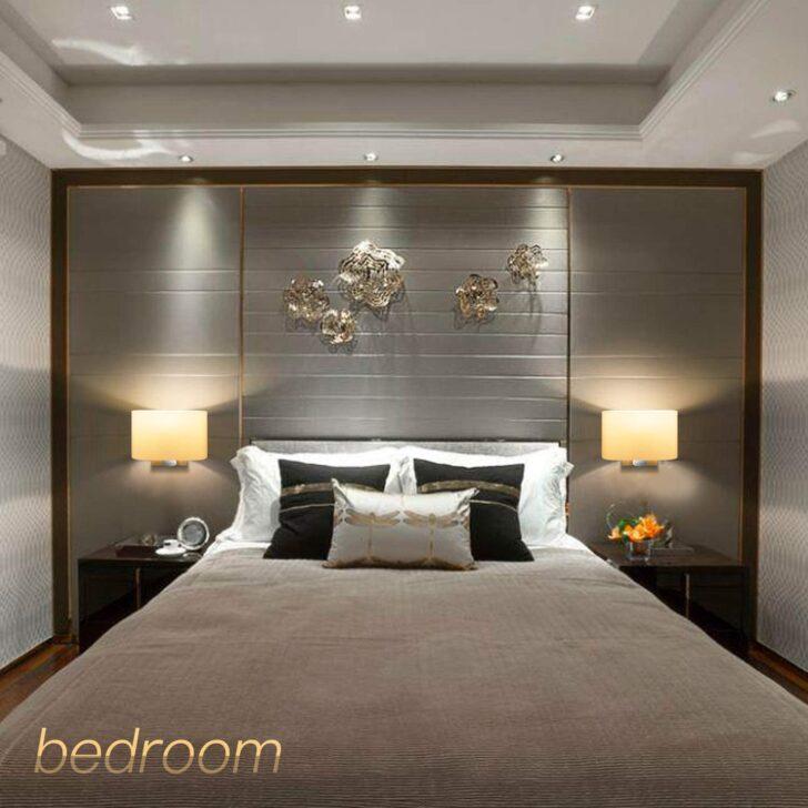 Medium Size of Wandleuchte Innen Schlafzimmer Schränke Komplettes Rauch Lampe Nolte Sitzbank Teppich Kommoden Gardinen Für Komplett Weiß Deckenleuchten Landhausstil Wohnzimmer Schlafzimmer Wandlampen