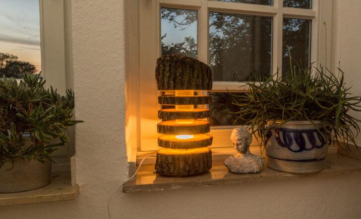Medium Size of Holz Led Lampe Selber Bauen Baumstamm Selbstde Esstisch Rustikal Spielhaus Garten Kunstleder Sofa Weiß Mit Holzbank Stehlampen Wohnzimmer Schlafzimmer Wohnzimmer Holz Led Lampe Selber Bauen