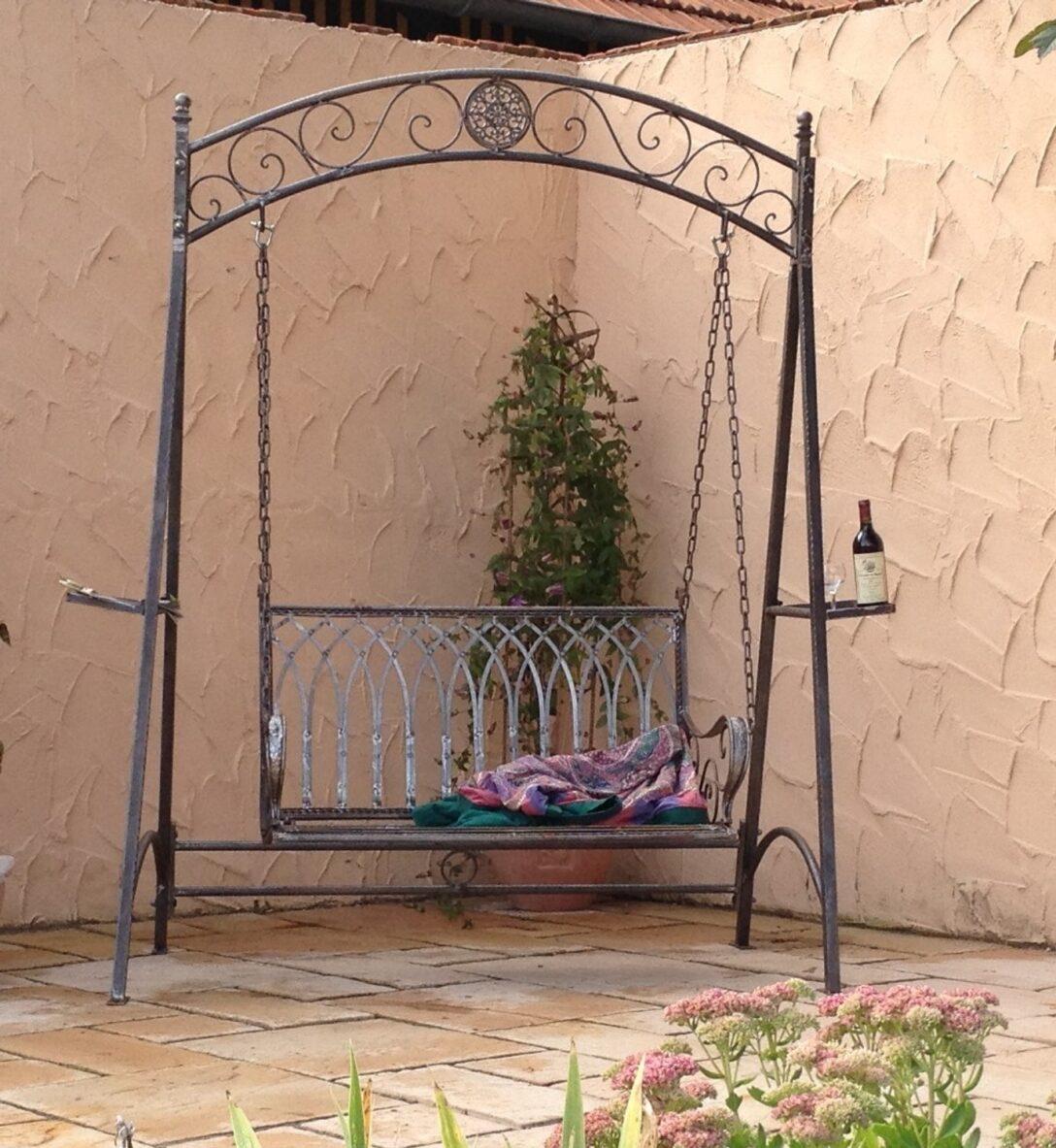 Large Size of Gartenschaukel Metall Landhaus Eisen Schmiedeeisen Hollywood Garten Schaukel Romantico Bett Regal Weiß Regale Wohnzimmer Gartenschaukel Metall