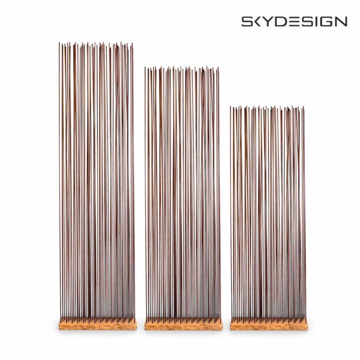 Medium Size of Paravent Bambus Balkon Ikea Raumteiler Mit Braunen Fiberglasstben Garten Bett Wohnzimmer Paravent Bambus Balkon