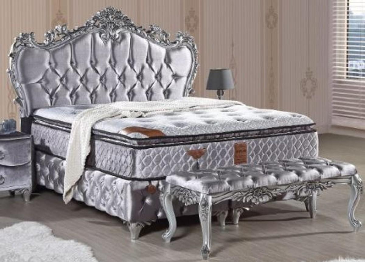 Full Size of Samt Bett 200x200 Casa Padrino Luxus Barock Betten In Vielen Farben Erhltlich Mit Beleuchtung Schwarz Weiß Weißes 160x200 Balken Minion Für übergewichtige Wohnzimmer Samt Bett 200x200