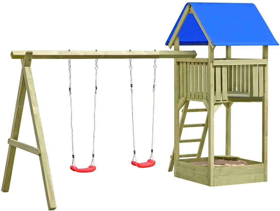 Large Size of Spielturm Abverkauf Gartenpirat Premium M Mit 2schaukel Sandkasten Aus Kinderspielturm Garten Bad Inselküche Wohnzimmer Spielturm Abverkauf