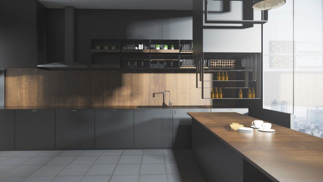 Large Size of Graue Kchen Kchendesignmagazin Lassen Sie Sich Inspirieren Küche Hochglanz Klapptisch Blende Led Deckenleuchte Eckküche Mit Elektrogeräten Möbelgriffe Wohnzimmer Küche Grauer Boden