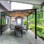 Mit Pavillon Garten Wohnzimmer Terrassen Pavillon
