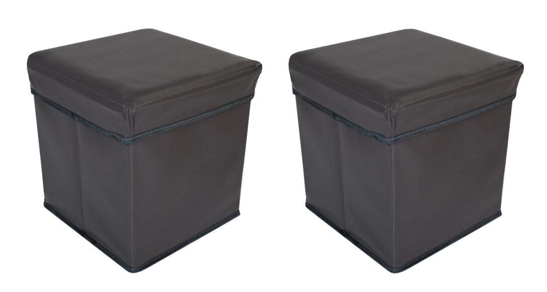 Large Size of Aufbewahrungsbox Garten Aldi 2faltbarer Sitzwrfel Aufbewahrungsbositzhocker Sitzbank Truhe Klapptisch Brunnen Im Trennwände Ecksofa Truhenbank Fussballtor Wohnzimmer Aufbewahrungsbox Garten Aldi