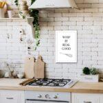 Real Küchen Poster Whip It Good Kchen Song 20 30 Cm Regal Wohnzimmer Real Küchen