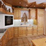 Holzkche Auffrischen Landhausstil Streichen Welche Farbe Neu Vollholzküche Holzküche Massivholzküche Wohnzimmer Holzküche Auffrischen