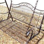 Gartenschaukel Metall Hollywoodschaukel Antik 2 Sitzer 082505 Regal Weiß Regale Bett Wohnzimmer Gartenschaukel Metall