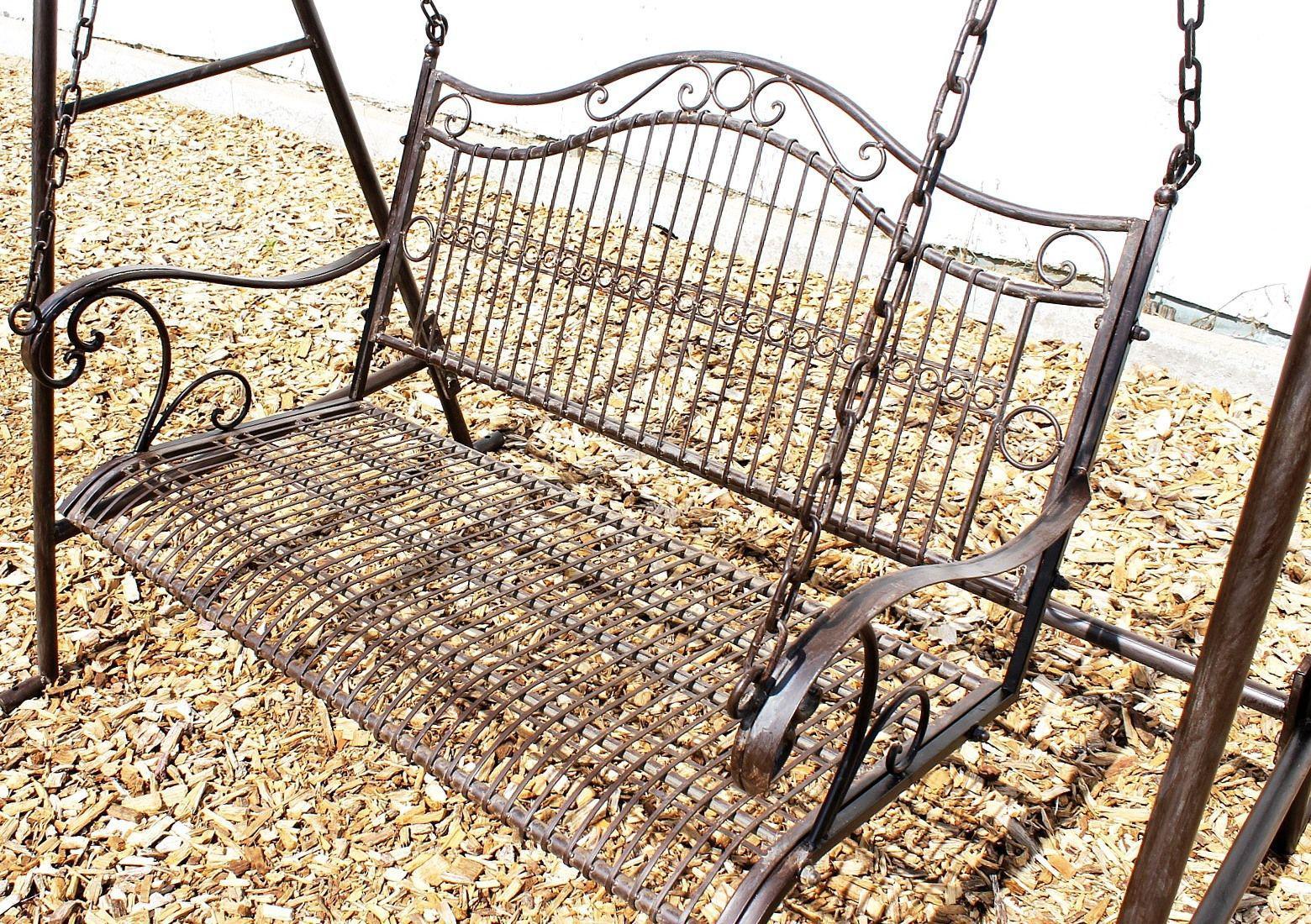 Full Size of Gartenschaukel Metall Hollywoodschaukel Antik 2 Sitzer 082505 Regal Weiß Regale Bett Wohnzimmer Gartenschaukel Metall