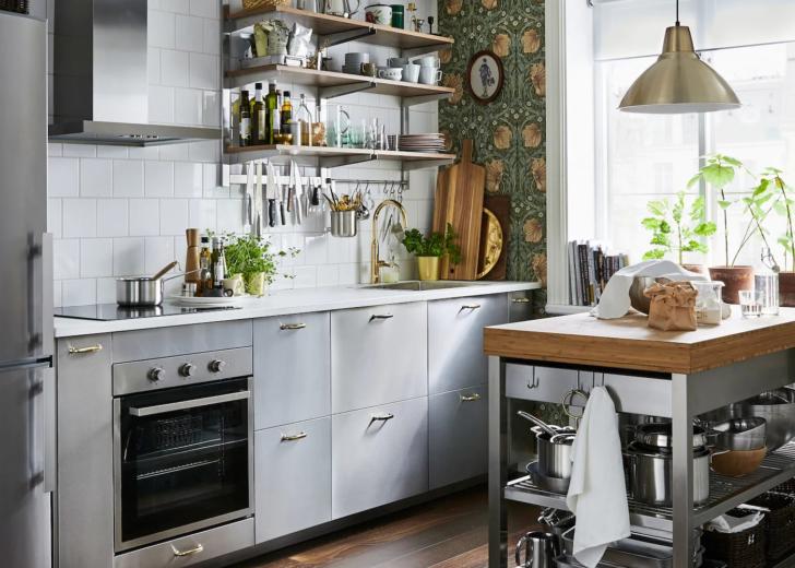 Ikea Edelstahl Küche Kaufen Mit Tresen Singelküche Bodenfliesen Planen Kostenlos Elektrogeräten Günstig Einbauküche Nobilia Waschbecken Griffe Modulküche Wohnzimmer Ikea Edelstahl Küche