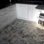 Küche Boden Bodenbeschichtung In Der Kche Hochglanz Design Kchenboden Einbauküche Mit Elektrogeräten Modulküche Behindertengerechte Schrankküche Wohnzimmer Küche Boden