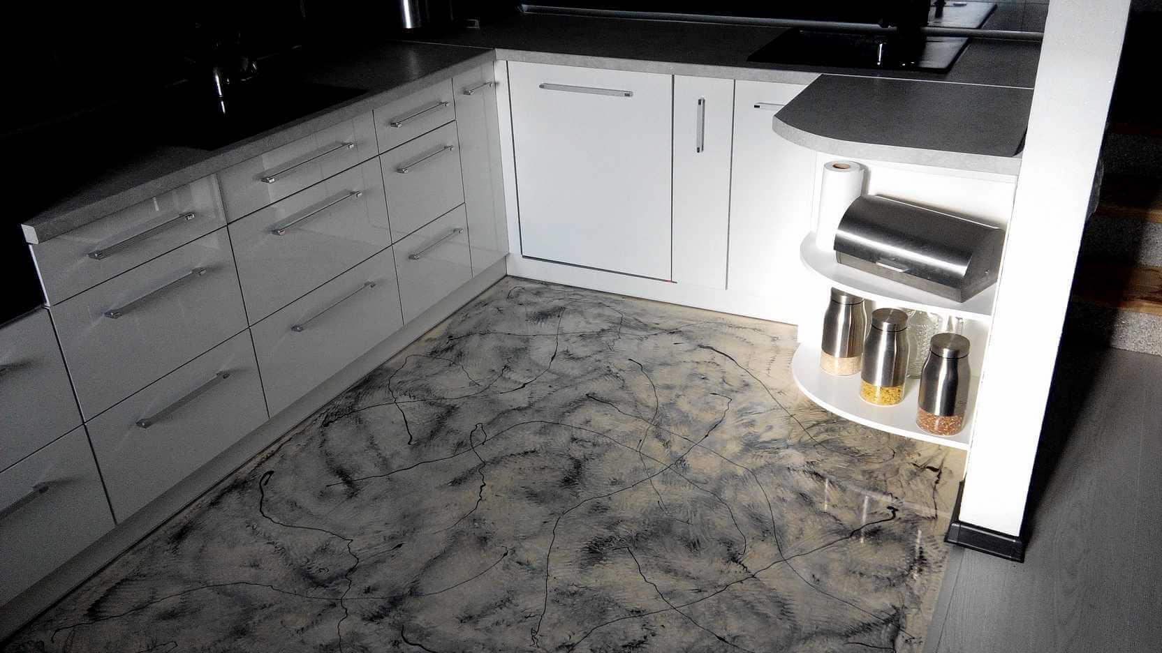Full Size of Küche Boden Bodenbeschichtung In Der Kche Hochglanz Design Kchenboden Einbauküche Mit Elektrogeräten Modulküche Behindertengerechte Schrankküche Wohnzimmer Küche Boden