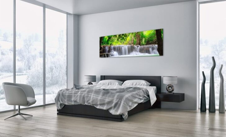 Glasbild 120x50 Arttor Bild Auf Glas Glasbilder Einteilig Breite 160cm Bad Küche Wohnzimmer Glasbild 120x50